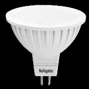 Лампа светодиод. Navigator 94 129 MR16-5-230-4K-GU5.3
