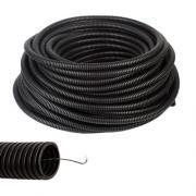Труба ПВХ d 20 мм (черная)