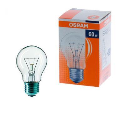Лампа OSRAM А CL 60W E-27