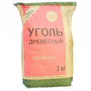 Уголь дубовый 3,0 кг